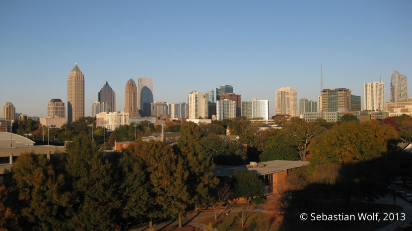 Midtown Atlanta from GA Tech Campus