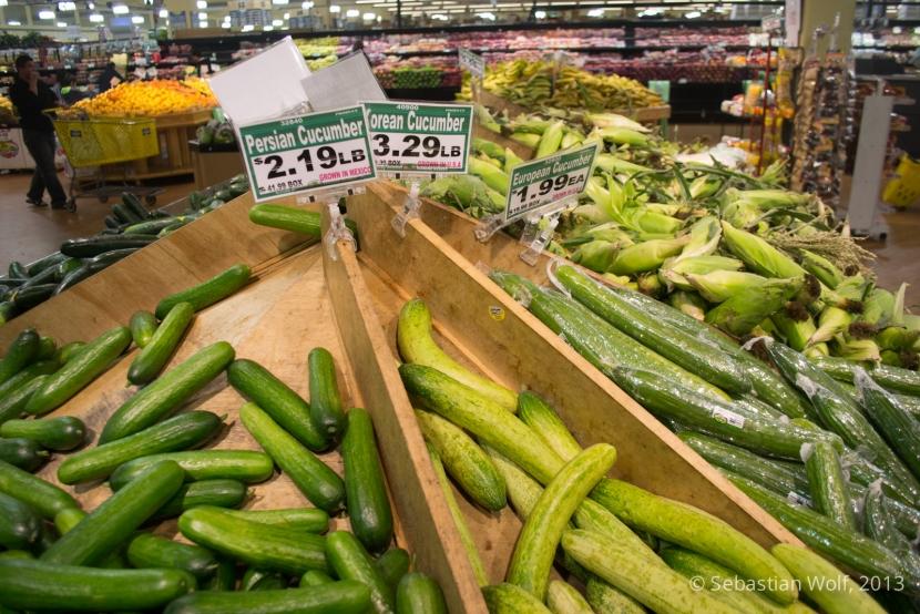 Einkaufen im Farmers Market