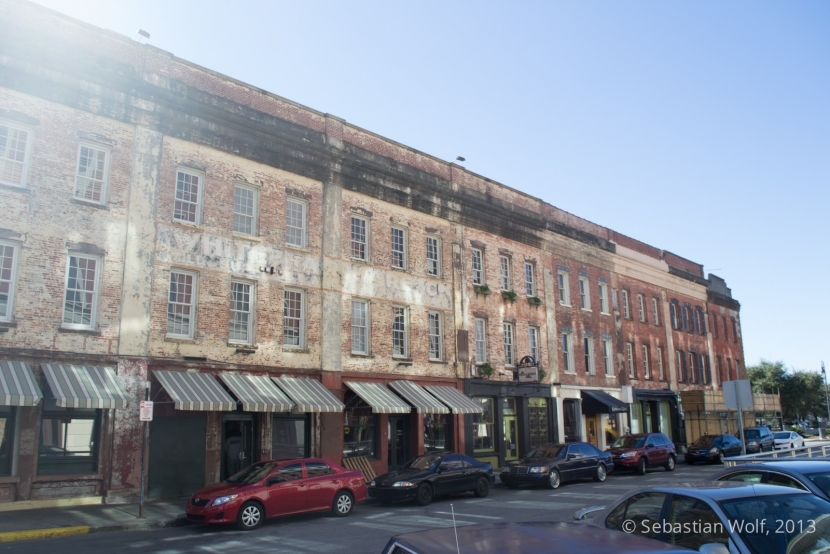 Straßenansicht Savannah