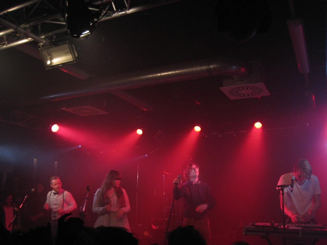 FM Belfast singing