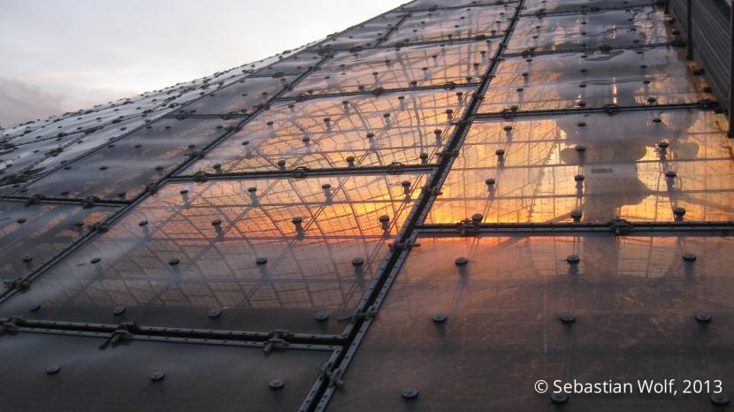 Sonnenuntergang Olympiastadion München