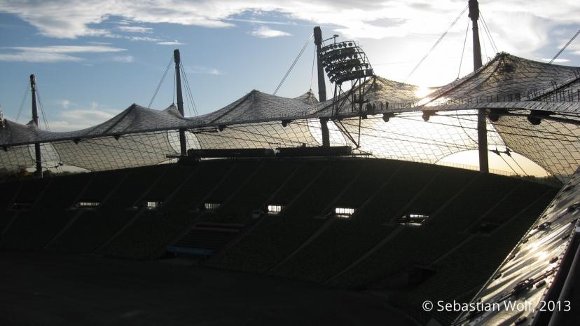 Das Olympiazeltdach