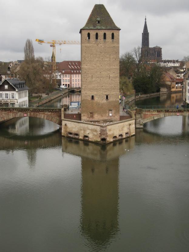 Wehrturm in Strasbourg