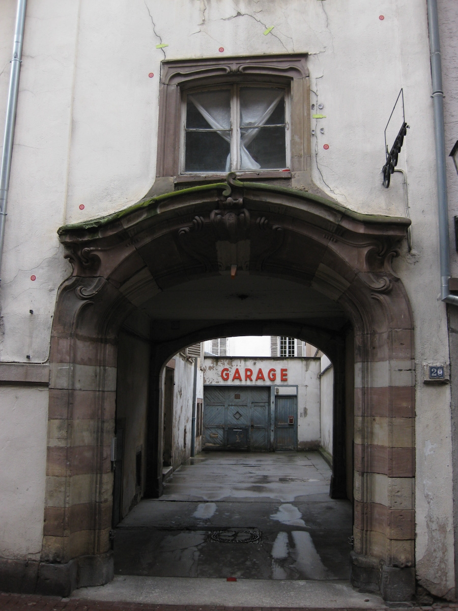 Garage in Straßburg