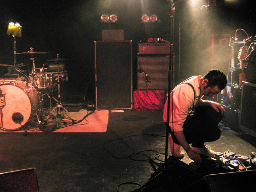 Martin Ebsen beim Soundcheck