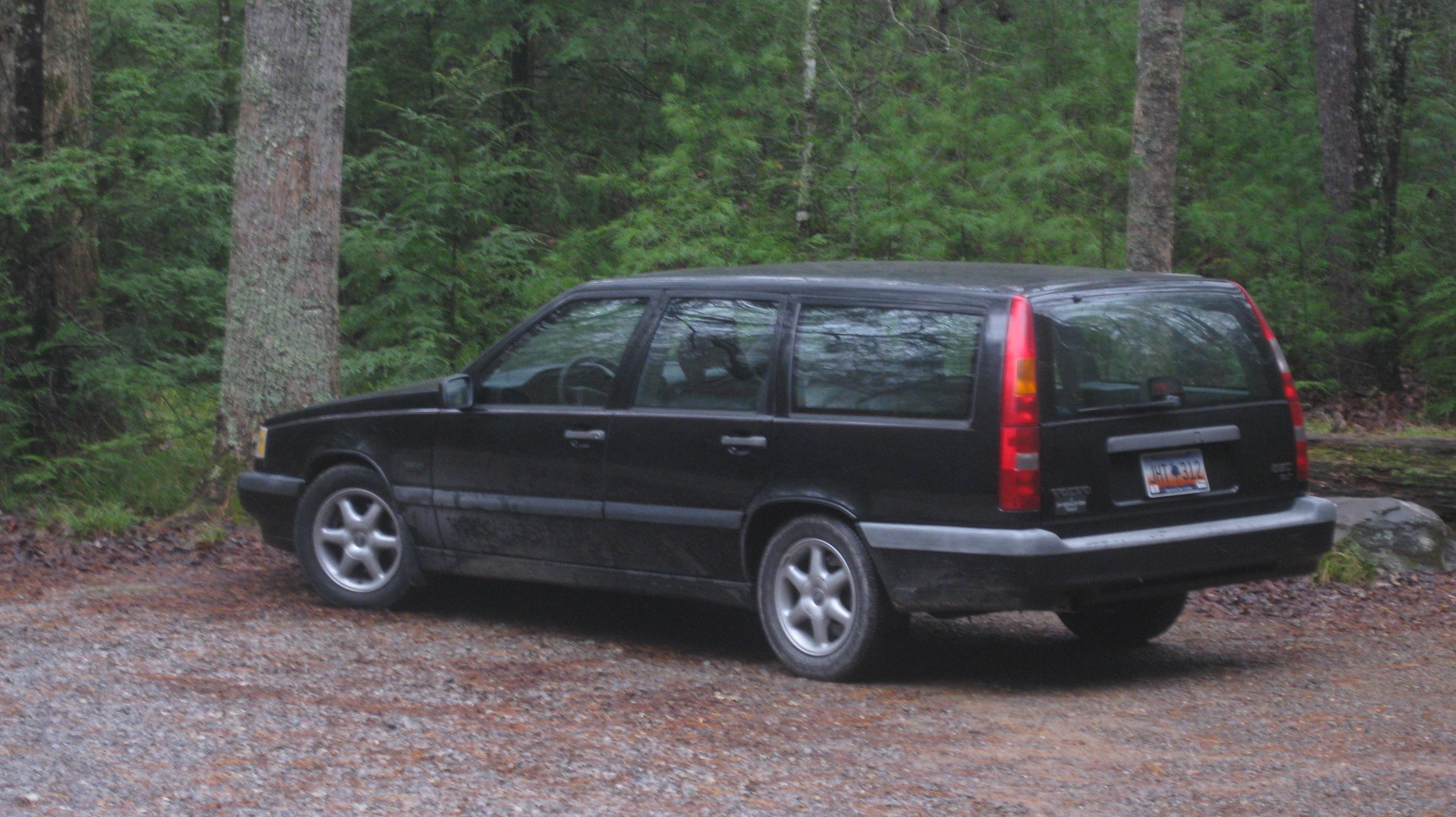 Volvo im Wald