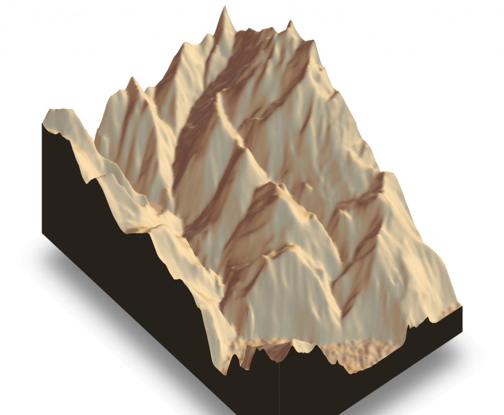 3D GPS data animation – virtually climb the Alps