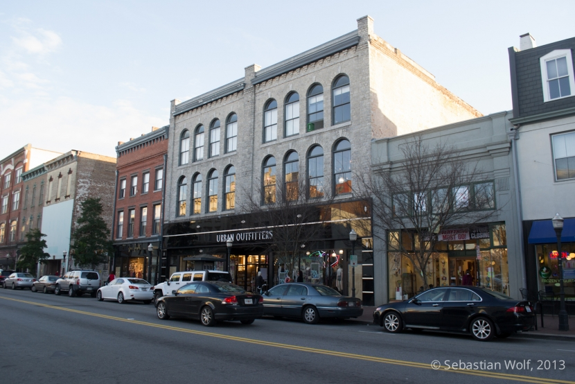 Savannah Straßenansicht
