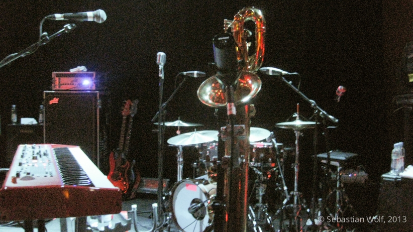 Fitz and the Tantrums Saxophone