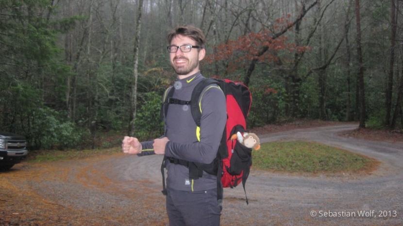 Ready to hike!