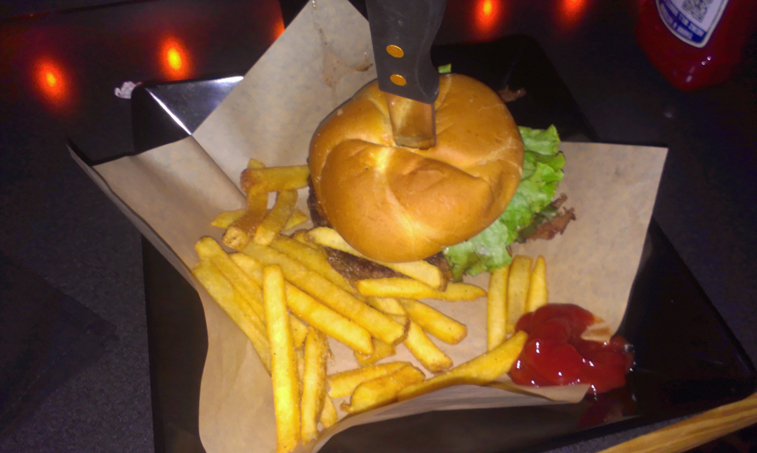 AMC Cinema Burger